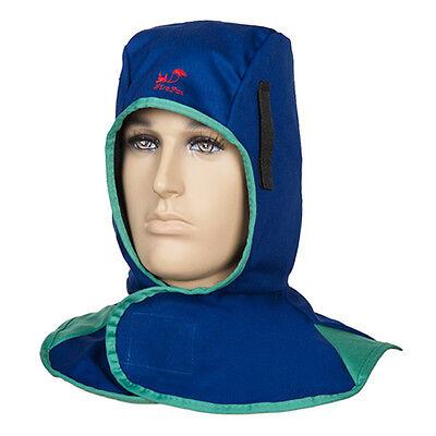 Flame Retardant Weldingtorching Hood Neck Protective Helmet Head Safety Cap