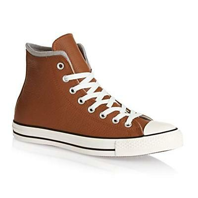 b65acf868dc0 Converse Unisex Chuck Taylor Leather All Star Hi Basketball Shoe Brown Size  7 9