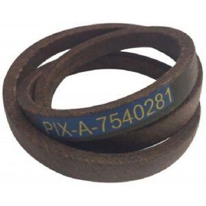 754-0281 MTD Variable Speed Transmission Drive Belt 603 604 548 RH115 - 954-0281