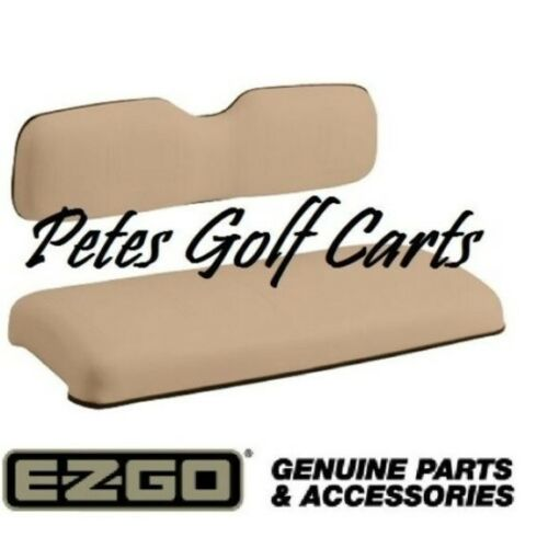 EZGO Golf Cart Replacement Seat OEM Tan New 1994 and Up TxT