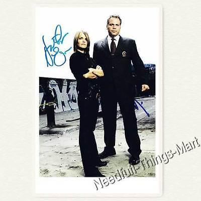 VINCENT D'ONOFRIO & KATHRYN ERBE aus Criminal Intent -  Autogrammfoto  