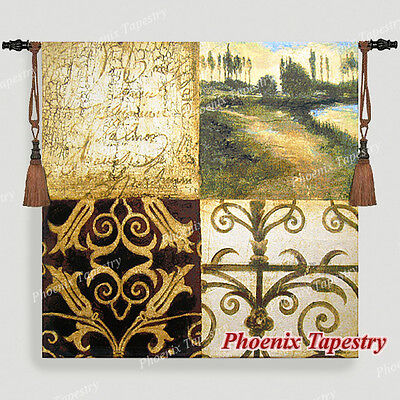 Letters From Home Fine Art Tapestry Wall Hanging, Cotton 100%, 54