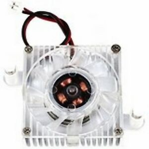 2Pin 4cm 40mm Square Video Graphics VGA Card Chipset Cooler Cooling Fan Heatsink