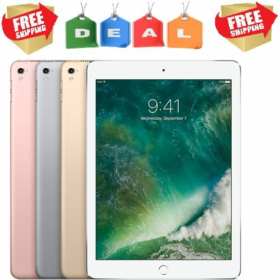Ipad - Apple iPad Pro WARRANTY (9.7,12.9)-inch, (32,128,256)GB, Gold,Gray,Silver Tablet