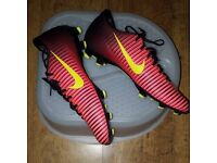Nike mercurial football boots size6