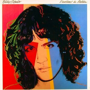 Billy Squier record album EMOTIONS IN MOTION 1982 classic rock