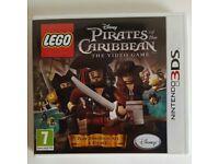 Lego disney Pirates of thr Caribbean 3DS game