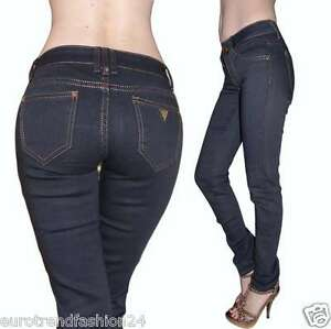 Jeggins Neu Damen Jeggings Hosen Röhren Jeans Treggings Leggins Hüftjeans