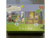 Ben & Holly jigsaw x2. Vgc. From smoke free and pet free home.