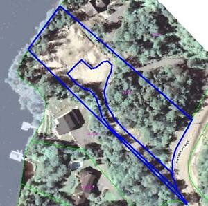 Laurentians - Lakefront Land on Lac Ludger / Lac Cardin