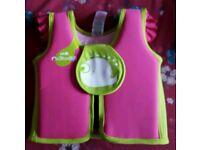 Girls swimming jacket 3-6 yrs