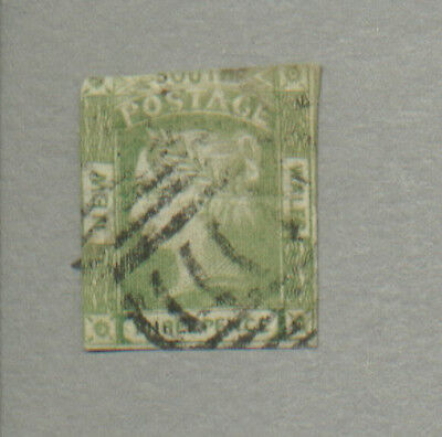 New South Wales   Scott 17a  3p Emerald