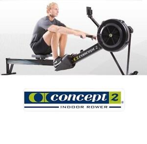 USED CONCEPT2 INDOOR ROWING MACHINE 2712-US 221439310 MODEL D WITH PM5 EXERCISE EQUIPMENT