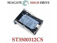 "SEAGATE 500GB SATA INTERNAL DESKTOP PC 3.5"" HDD HARD DISK DRIVE CCTV MAC DVR PVR"