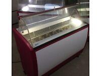 Ice cream display freezer ISA Jamajka 7trays