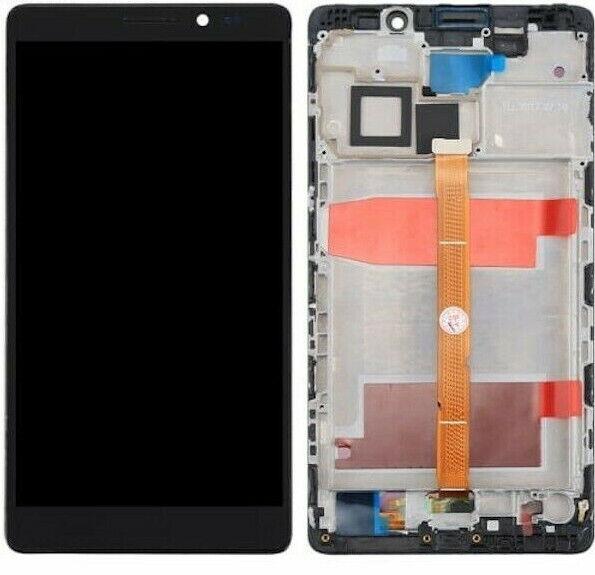 DISPLAY LCD TOUCH SCREEN +FRAME TELAIO HUAWEI MATE 8 SCHERMO NERO VETRO NXT-AL10