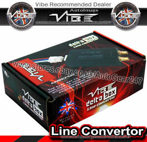 Vibe-Delta-Box-Matrix-Car-Speaker-Wire-To-Low-Level-RCA-Output-Line-Convertor