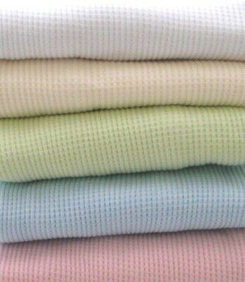 100% Cotton Waffle Weave Thermal Receiving Baby Blanket by American Baby Co  Cotton Thermal Receiving Blanket