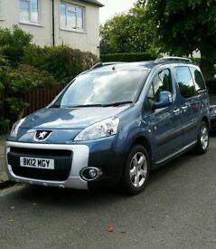 Peugeot partner tepee 2012 1.6 diesel