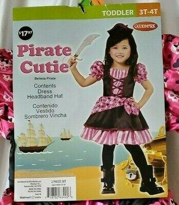 Pirate Cutie Costume (Pirate Cutie size 3T-4T)