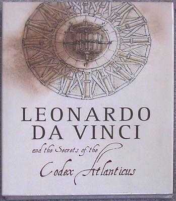 The Secrets Of The Codex Atlanticus By Leonardo Da Vinci   Huge Illus Hardcover