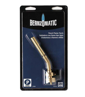 Bernzomatic 329207 Pencil Flame Brass Torch 12