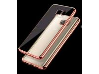Samsung s6 ROSE GOLD CRYSTAL CLEAR TPU CASE COVER