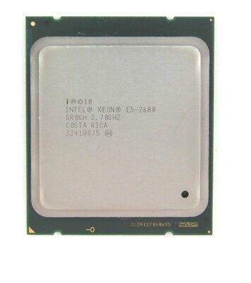 Intel Xeon E5-2680 2,70 GHz 8Core Prozessor CPU 20MB Cache 2011 CPU SR0KH  usato  Spedire a Italy