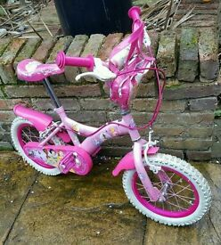 Disney Princess bike & Helmet