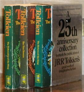 JRR-TOLKIEN-LORD-OF-THE-RINGS-25th-ANNIVERSARY-COLLECTION-SLIPCASE-RARE