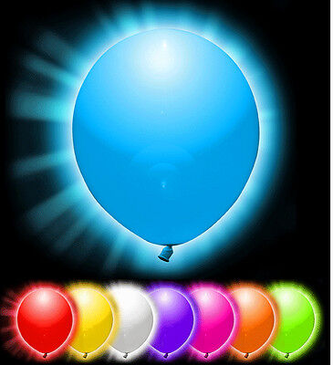 LED Balloons Light Up Glow Dark Party Balloon Wedding Lights Baloons Decorations