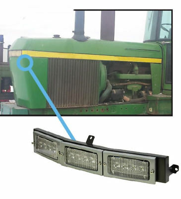 Fits John Deere 30-40 Series Tractor Led Hood Light Conversion Kit 2929