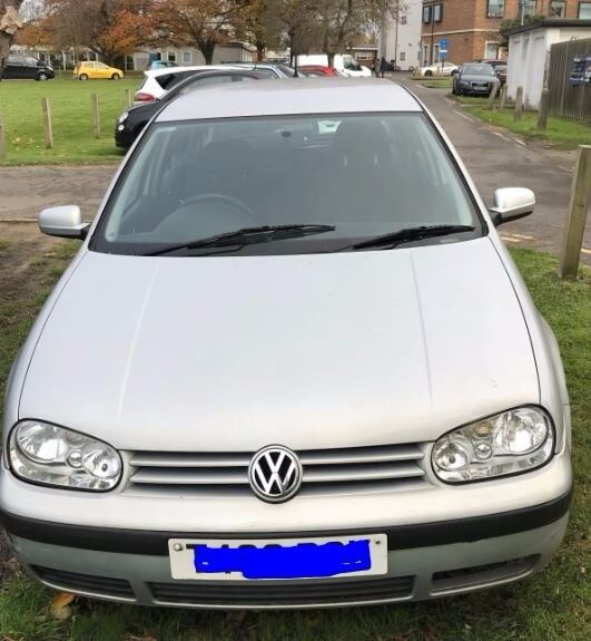VW Golf Automatic Silver for Spares or Repair