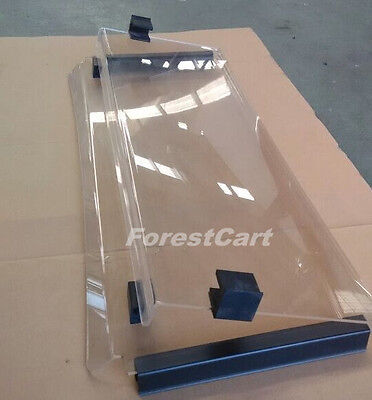 CLEAR Flipable Fold Down Windshield for Bad Boy Buggies Classic 2004-2010 SALE