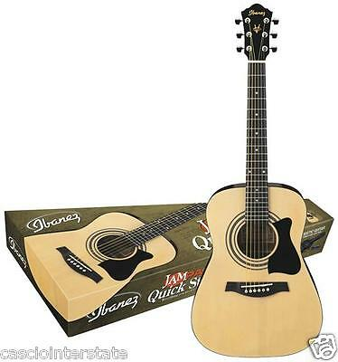 Ibanez Acoustic Guitar Jam Pack IJV30 w/ Gig Bag & Tuner