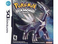 Pokemon Diamond Nintendo DS Game Cartridge Only