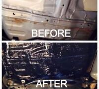 UNDERCOATINGS and other services