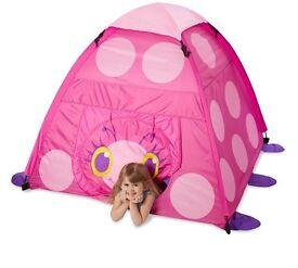 Melissa & Doug pixie ladybird tent brand new