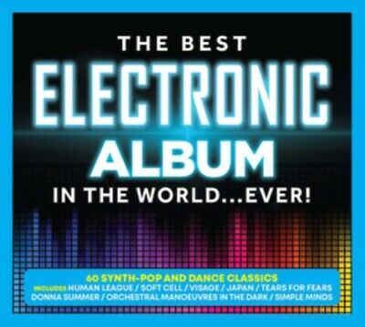 Various Artists - The Best Electronic Album In the World Ever! NEW