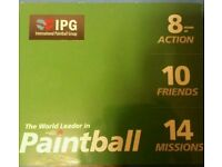 International Paintball Group Tickets