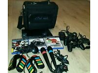 Slim playsatation 2 complete console with 3games and extras
