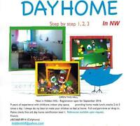 Dayhome Step By Step 1,2,3 in NW