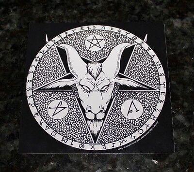 Cheap Sale Son Of Satan Sticker Vintage 2003 Window Decal Humor Devil Lucifer 666 Other Entertainment Mem