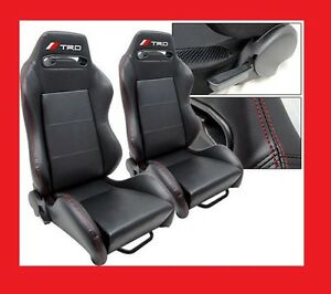 recaro racing seats race trd pvc leather scion toyota. Black Bedroom Furniture Sets. Home Design Ideas