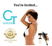 Become a spray tan expert! Receive goodie bags worth $500