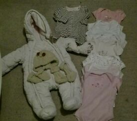 Baby girl starter bundle / lot