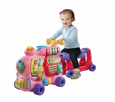 Baby Girls Learning Toy Sit-to-Stand Ultimate Alphabet Train Pink Gift