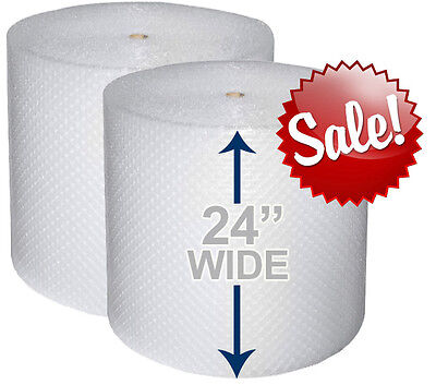 24 Wide 316 X 350 Ft Bubble Roll Small Bubbles 700 Sqft Cushion Wrap