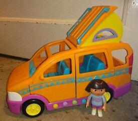 Dora the Explorer musical car and figure