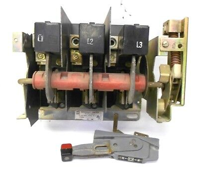 Square D Disconnect Switch Class 9422 Type Tf-2 Form Bl